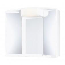 шкаф огледало с осветление АНДЖИ 59х50х15см 54120