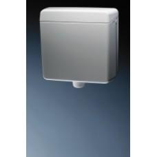 тоалетно казанче пластмасово GEBERIT 112 бяло универсален монтаж