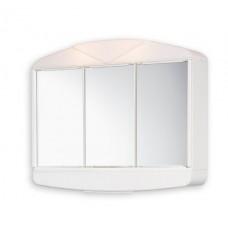 шкаф огледало с осветление АРКАД 58х50х15см 41134