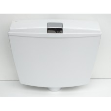 тоалетно казанче пластмасово СМЕРАЛДО бяло/401021/