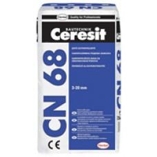 ЦЕРЕЗИТ CN 68 саморазливна подова замазка  25кг