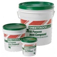 Гипсова шпакловъчна смес Sheetrock 6кг / зелена кутия /шпакловане