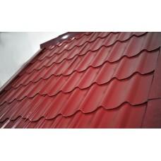 метални керемиди 1175х1300мм червени