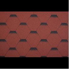 битумни керемиди пчелна пита червена ХМ-3кв.м