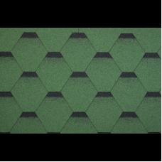 битумни керемиди пчелна пита зелена-3кв.м