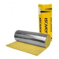минерална вата ИЗОКАМ 5см с алуминиево фолио 18кв.м - 3.02лв за м2