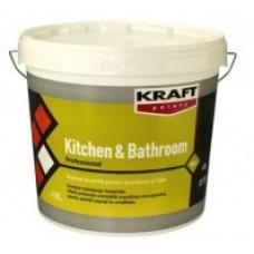латекс за кухня и баня 1л бял КРАФТ