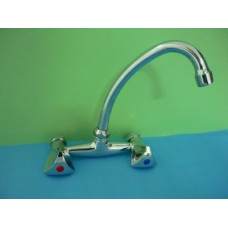 смесител за мивка двурък. L ФИОРЕ  /9404/ /6737/
