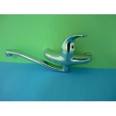 смесител за мивка стенен еднорък. 22см./2304/СИН
