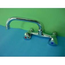 смесител за мивка двурък.Uлеб./FP-04/СИН