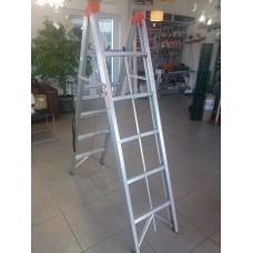 *стълба алуминиева сгъваема 4 стъпала