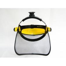 щит предпазен с мрежа/шлем за косачка/RTR MAX