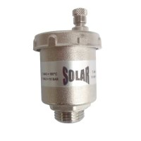 автом.обезвъздушител 1/2 мат никел SOLAR