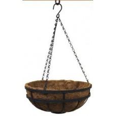 Саксия висяща кокос кръгла 30см. 77168 Ш