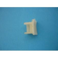 тапа пластмасова за релса -корниз ПВЦ един ред