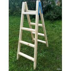 стълба дървена 1.75м./5 стъпала/