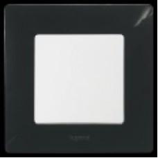 Рамка единична черна НИЛОЕ 397051