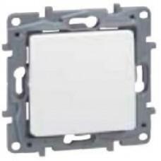 Еднополюсен ключ бял 10А НИЛОЕ 664500