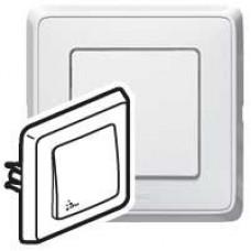 Ключ обикновен БЯЛ КАРИВА IP44 влагоустойчив 773809