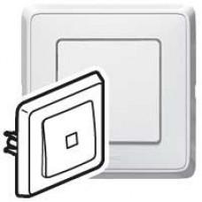 Ключ обикновен БЯЛ с индикатор  КАРИВА 773810