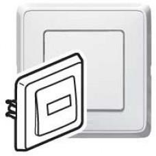 Ключ бутон БЯЛ КАРИВА със св.етикет 12V 773812