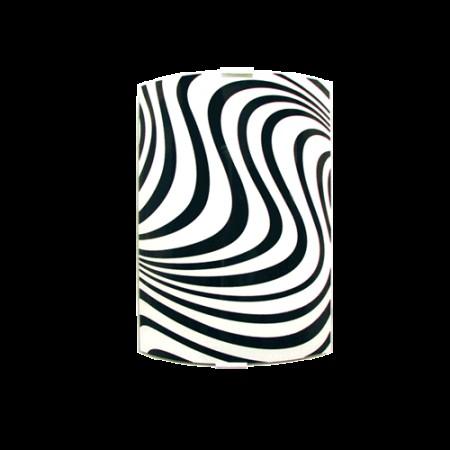 аплик квадрат 200*290 черен/бял ВЪЛНИ