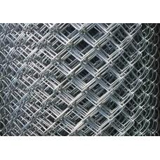 мрежа оградна поцинк.5х5см /Н1.20м/ф1.80 10м ТХ