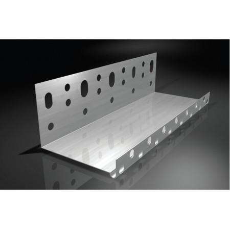 Алуминиев начален профил за топлоизолация 80мм 2м