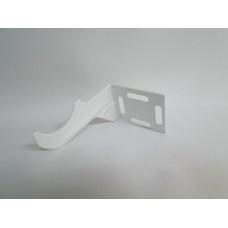 конзола ъглова за ал радиаор бяла