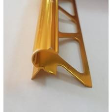 лайсна алум 10.6мм стъпало злато полирана
