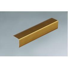 лайсна алум.ъгъл 15х15 злато