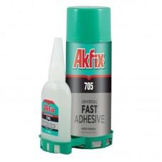 лепило с активатор Akfix 705C 200мл.+65гр.