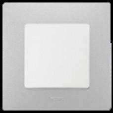 Рамка единична Алуминий НИЛОЕ 397041