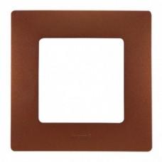 Рамка единична Какао НИЛОЕ 397071