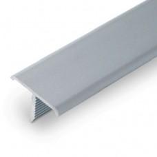 лайсна алуминиева 24мм Т-образна матирана сребро