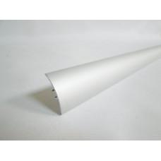 лайсна алуминиева преходна 30мм матирана сребро  2.7м