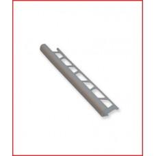 лайсна алуминиева 8мм външен ъгъл матирана сребро