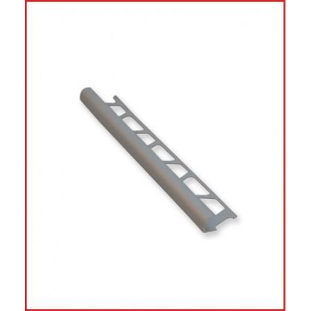 лайсна алум  12мм външен ъгъл мат сребро
