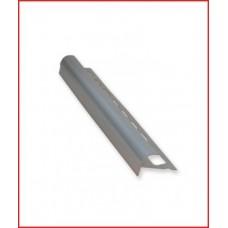 лайсна алуминиева F-профил за стъпало матирана сребро 10мм