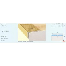лайсна алум стъпало 40/20мм златна 4511