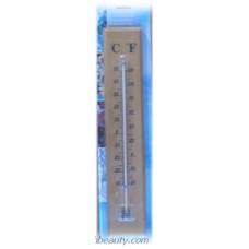 термометър стаен дървен голям 25*6см  /8233/