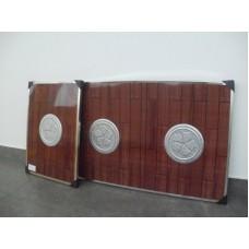 табла за печка малка с плочка 45х60см