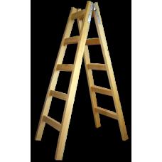 стълба дървена 2.25м./6 стъпала/