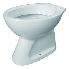 тоалетна чиния бяла 355 Д.О. 2065.0.1 ФАЯНС