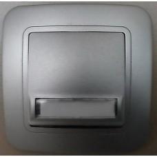бутон за звънец с етикет лилиум ИНОКС 74610