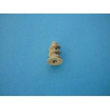дюбел ГИПСОКАРТОН 10x28 /тип охлюв/ пластмасов