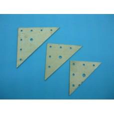 планка триъгълна 80х80