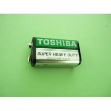 батерия усил. 6F22-UGG /9V/ ТОШИБА