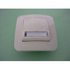 бутон за звънец с етик. КРЕМ лилиум натурал55210