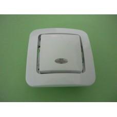 Ключ сх.1 светещ  лилиум  71021 МАКЕЛ /MAKEL
